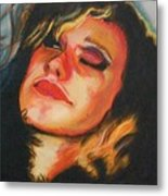 Sultry Metal Print