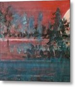 Sultry Sunset Metal Print