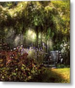 Summer - Landscape - Eve's Garden Metal Print by Mike Savad