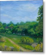 Summer Afternoon At Ashlawn Farm Metal Print