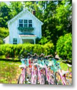 Summer Afternoon In The Hamptons Metal Print