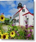 Summer At East Point Light Metal Print