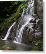 Summer At Glen Moss Falls Metal Print