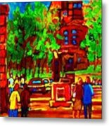 Summer At Mcgill University Metal Print