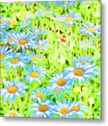 Summer Blues Metal Print