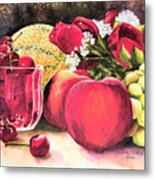 Summer Bounty Metal Print
