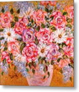 Summer Bouquet Metal Print