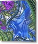 Summer Bouquet Rendition 3 Metal Print