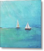 Summer Breeze-e Metal Print