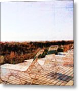 Summer By The Sea Metal Print
