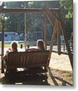 Summer Camp Downtime Metal Print