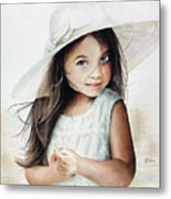 Summer Claire Metal Print