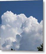 Summer Clouds In Maine Metal Print
