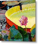 Summer Colors On The Pond Metal Print