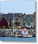 Summer Cottages Dingle Ireland Metal Print