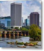 Summer Day In Rva Metal Print
