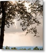 Summer Days On The Horizon Metal Print