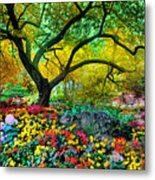 Summer Ends And Autumn Begins Metal Print