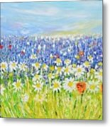 Summer Field Metal Print
