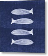 Summer Fish- Art By Linda Woods Metal Print