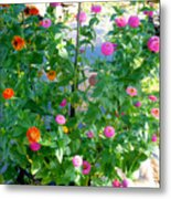 Summer Flowers 13 Metal Print