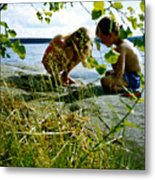Summer Fun In Finland Metal Print