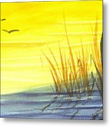 Summer Gold Metal Print
