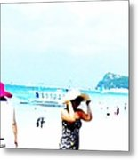 Summer Hats Metal Print