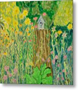 Summer House Metal Print