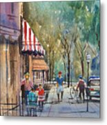 Summer In Cedarburg Metal Print