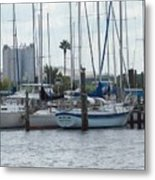 Summer In Florida Metal Print