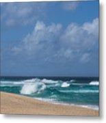 Summer In Hawaii - Banzai Pipeline Beach Metal Print
