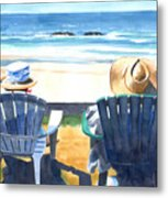 Summer In Lincoln City Metal Print