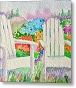 Summer In Paradise Metal Print by Elena Mahoney
