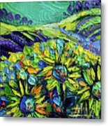 Summer In Provence Metal Print