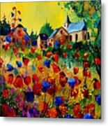 Summer In Sosoye Metal Print