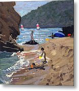 Summer In Spain Metal Print