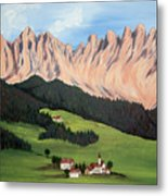 Summer In Switzerland Metal Print