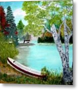 Summer In The Muskoka's Metal Print