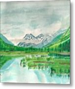 Summer Of Alaska Metal Print