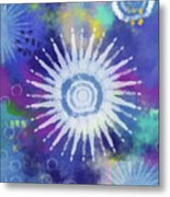 Summer Of Love 2- Art By Linda Woods Metal Print