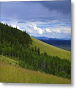 Summer On Kenosha Pass Metal Print