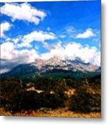 Summer On Mt. Shasta Metal Print