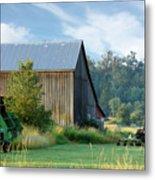 Summer On The Farm Metal Print by Barbara  White