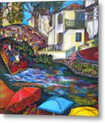 Summer On The River Metal Print