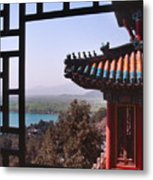 Summer Palace Or Yi He Yuan Metal Print