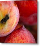Summer Peaches Metal Print