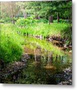 Summer Retreat Metal Print