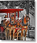 Summer Ride Metal Print