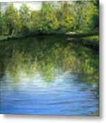 Summer River Metal Print
